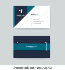 minimalist business card template for your business