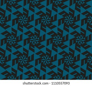 Minimalist geometric seamless background. For digital paper, textile print, page fill. Vector illustration