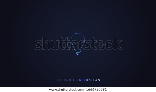 Minimalist Vector Wallpaper Dark Background Isolated Stock Vector Royalty Free 1666920391