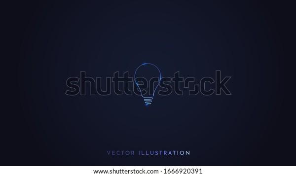 Minimalist Vector Wallpaper Dark Background Isolated Stock Vector Royalty Free 1666920391