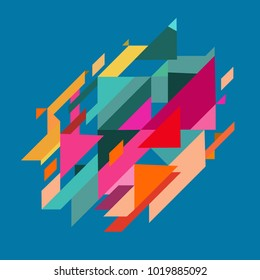 Minimalistic design, creative concept, modern diagonal abstract background Geometric element.