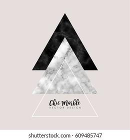 Minimalistic Marble Vector Design
