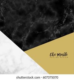 Minimalistic Trendy Marble Vector Design