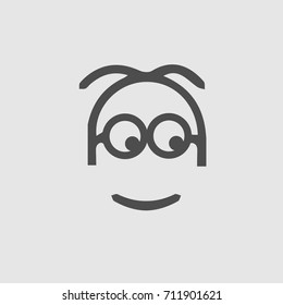 Minion vector icon eps 10.