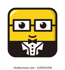 Minion vector, suitable for logos and characters