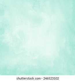 mint blue watercolor paper background
