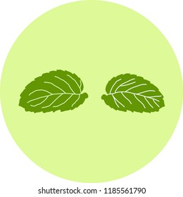 mint for decoration, background - illustion