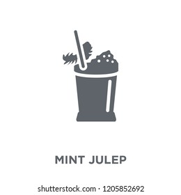 Mint Julep icon. Mint Julep design concept from Drinks collection. Simple element vector illustration on white background.