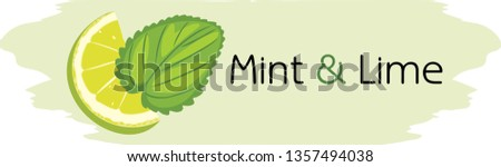 mint-lime-drawing-label-design-450w-1357