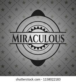 Miraculous dark badge