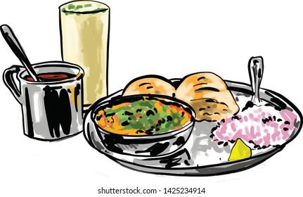 Misal is very popular food in Mumbai and Maharashtra