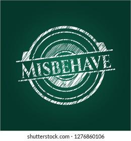 Misbehave on blackboard