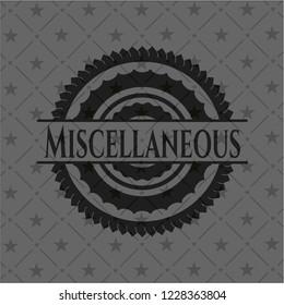 Miscellaneous black badge