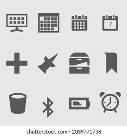 Miscellaneous icon pack design template - Shutterstock ID 2039771738