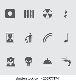 Miscellaneous icon pack design template - Shutterstock ID 2039771744