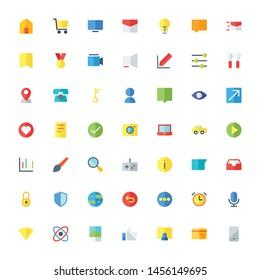 Miscellaneous Icon Set Flat 32 px