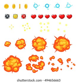 Miscellaneous Items Game Sprites. Suitable for side scrolling, action, and adventure game.