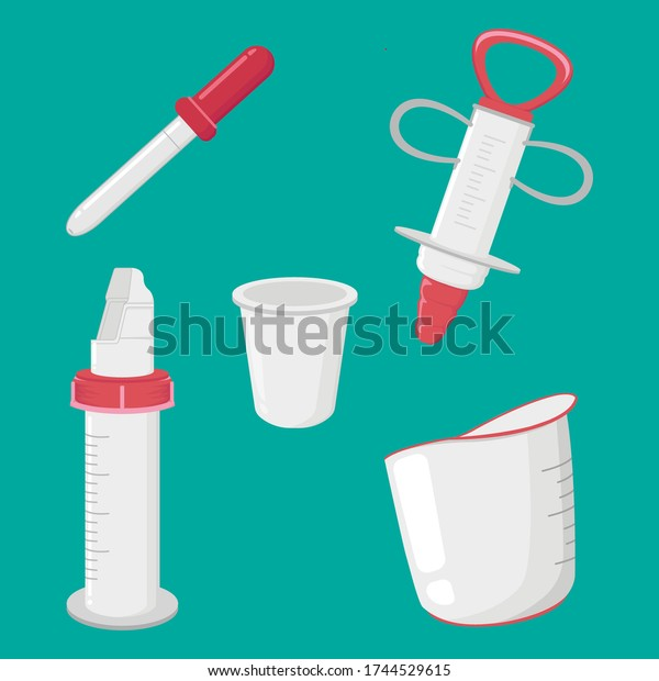 Miscellaneous Medical Tool Illustration Design