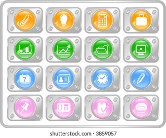 Miscellaneous office vector icons