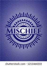 Mischief with denim texture
