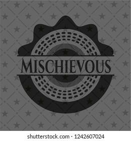 Mischievous black badge