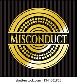 Misconduct gold badge