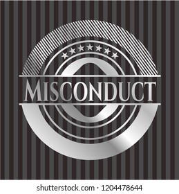 Misconduct silver badge