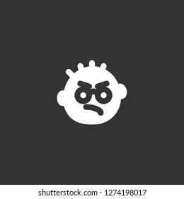 miserly icon vector. miserly vector graphic illustration