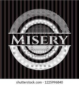 Misery silvery emblem