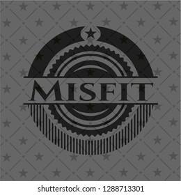 Misfit black emblem