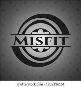 Misfit black emblem. Vintage.