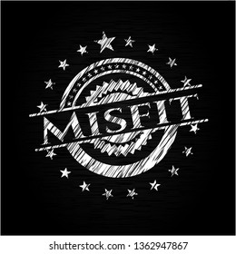 Misfit chalk emblem