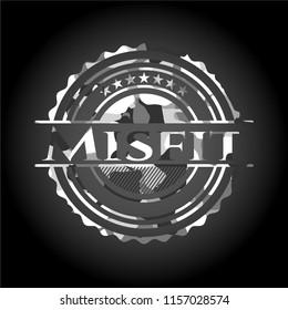Misfit grey camo emblem