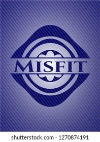Misfit jean background