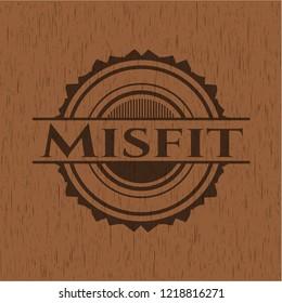 Misfit wood emblem