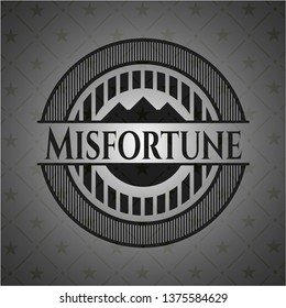 Misfortune dark icon or emblem