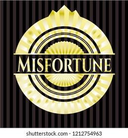 Misfortune gold badge