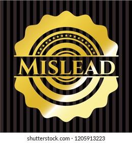 Mislead golden badge