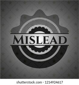 Mislead realistic dark emblem
