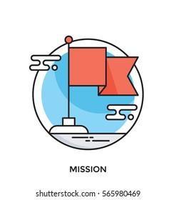 Misson Vector Icon
