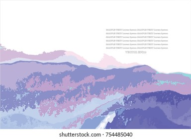 Mist moutain and sky abstract pattern background,EPS10