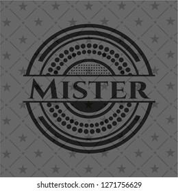 Mister dark emblem. Retro