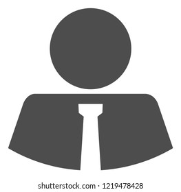Mister icon on a white background. Isolated mister symbol with flat style.