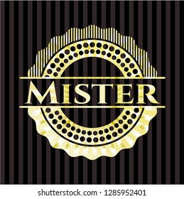 Mister shiny badge