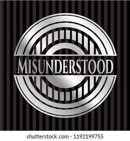Misunderstood silver shiny emblem