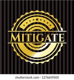 Mitigate gold badge or emblem
