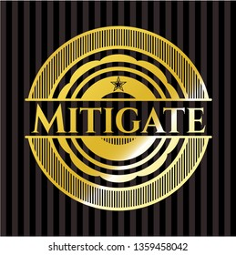 Mitigate gold emblem