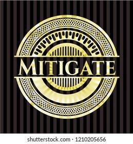Mitigate golden emblem or badge