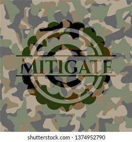 Mitigate on camouflaged texture
