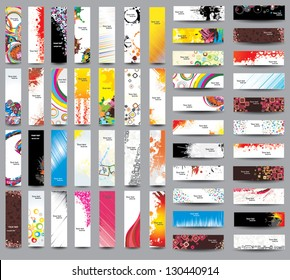 Mix Collection vertical and horizontal banners. Vol 3